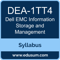 Information Storage and Management PDF, DEA-1TT4 Dumps, DEA-1TT4 PDF, Information Storage and Management VCE, DEA-1TT4 Questions PDF, Dell EMC DEA-1TT4 VCE, Dell EMC DECA-ISM Dumps, Dell EMC DECA-ISM PDF