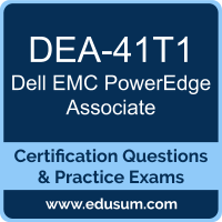 PowerEdge Associate Dumps, PowerEdge Associate PDF, DEA-41T1 PDF, PowerEdge Associate Braindumps, DEA-41T1 Questions PDF, Dell EMC DEA-41T1 VCE, Dell EMC DCA-PowerEdge Dumps