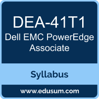 PowerEdge Associate PDF, DEA-41T1 Dumps, DEA-41T1 PDF, PowerEdge Associate VCE, DEA-41T1 Questions PDF, Dell EMC DEA-41T1 VCE, Dell EMC DCA-PowerEdge Dumps, Dell EMC DCA-PowerEdge PDF