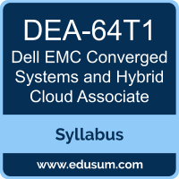 Converged Systems and Hybrid Cloud Associate PDF, DEA-64T1 Dumps, DEA-64T1 PDF, Converged Systems and Hybrid Cloud Associate VCE, DEA-64T1 Questions PDF, Dell EMC DEA-64T1 VCE, Dell EMC DCA-CSHC Dumps, Dell EMC DCA-CSHC PDF