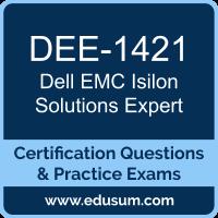 Isilon Solutions Expert Dumps, Isilon Solutions Expert PDF, DEE-1421 PDF, Isilon Solutions Expert Braindumps, DEE-1421 Questions PDF, Dell EMC DEE-1421 VCE, Dell EMC DCE-IE Dumps