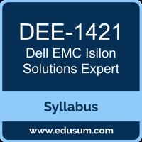 Isilon Solutions Expert PDF, DEE-1421 Dumps, DEE-1421 PDF, Isilon Solutions Expert VCE, DEE-1421 Questions PDF, Dell EMC DEE-1421 VCE, Dell EMC DCE-IE Dumps, Dell EMC DCE-IE PDF