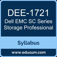 SC Series Expert PDF, DEE-1721 Dumps, DEE-1721 PDF, SC Series Expert VCE, DEE-1721 Questions PDF, Dell EMC DEE-1721 VCE, Dell EMC DECE-IE Dumps, Dell EMC DECE-IE PDF, Dell EMC DCE Dumps, Dell EMC DCE PDF