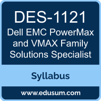 PowerMax and VMAX Family Solutions Specialist PDF, DES-1121 Dumps, DES-1121 PDF, PowerMax and VMAX Family Solutions Specialist VCE, DES-1121 Questions PDF, Dell EMC DES-1121 VCE, Dell EMC DCS-IE Dumps, Dell EMC DCS-IE PDF