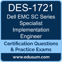 SC Series Specialist Implementation Engineer Dumps, SC Series Specialist Implementation Engineer PDF, DES-1721 PDF, SC Series Specialist Implementation Engineer Braindumps, DES-1721 Questions PDF, Dell EMC DES-1721 VCE, Dell EMC DCS-IE Dumps