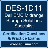 EMC Midrange Storage Solutions Dumps, EMC Midrange Storage Solutions PDF, DES-1D11 PDF, EMC Midrange Storage Solutions Braindumps, DES-1D11 Questions PDF, EMC DES-1D11 VCE
