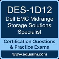 EMC DCS-TA Dumps, EMC DCS-TA PDF, DES-1D12 PDF, EMC DCS-TA Braindumps, DES-1D12 Questions PDF, EMC DES-1D12 VCE