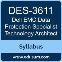 Data Protection Specialist Technology Architect PDF, DES-3611 Dumps, DES-3611 PDF, Data Protection Specialist Technology Architect VCE, DES-3611 Questions PDF, Dell EMC DES-3611 VCE, Dell EMC DCS-TA Dumps, Dell EMC DCS-TA PDF