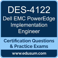 PowerEdge Implementation Engineer Dumps, PowerEdge Implementation Engineer PDF, DES-4122 PDF, PowerEdge Implementation Engineer Braindumps, DES-4122 Questions PDF, Dell EMC DES-4122 VCE, Dell EMC DCS-IE Dumps