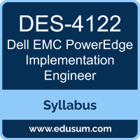 PowerEdge Implementation Engineer PDF, DES-4122 Dumps, DES-4122 PDF, PowerEdge Implementation Engineer VCE, DES-4122 Questions PDF, Dell EMC DES-4122 VCE, Dell EMC DCS-IE Dumps, Dell EMC DCS-IE PDF