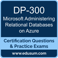 Administering Relational Databases on Azure Dumps, Administering Relational Databases on Azure PDF, DP-300 PDF, Administering Relational Databases on Azure Braindumps, DP-300 Questions PDF, Microsoft DP-300 VCE, Microsoft Administering Relational Databases on Azure Dumps