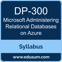 Administering Relational Databases on Azure PDF, DP-300 Dumps, DP-300 PDF, Administering Relational Databases on Azure VCE, DP-300 Questions PDF, Microsoft DP-300 VCE, Microsoft Administering Relational Databases on Azure Dumps, Microsoft Administering Relational Databases on Azure PDF