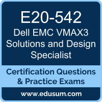 VMAX3 Solutions and Design Specialist Dumps, VMAX3 Solutions and Design Specialist PDF, E20-542 PDF, VMAX3 Solutions and Design Specialist Braindumps, E20-542 Questions PDF, Dell EMC E20-542 VCE, Dell EMC DECS-TA Dumps