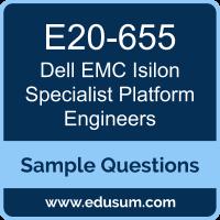 Isilon Specialist Platform Engineers Dumps, E20-655 Dumps, E20-655 PDF, Isilon Specialist Platform Engineers VCE, Dell EMC E20-655 VCE, Dell EMC DCS-PE PDF
