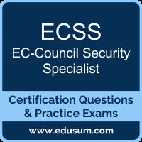 ECSS Dumps, ECSS PDF, ECSS Braindumps, EC-Council ECSS Questions PDF, EC-Council ECSS VCE, EC-Council ECSS v9 Dumps