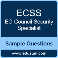 ECSS Dumps, ECSS PDF, ECSS VCE, EC-Council Security Specialist VCE, EC-Council ECSS v9 PDF