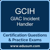 GCIH Dumps, GCIH PDF, GCIH Braindumps, GIAC GCIH Questions PDF, GIAC GCIH VCE, GIAC GCIH Dumps