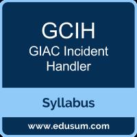 GCIH PDF, GCIH Dumps, GCIH VCE, GIAC Incident Handler Questions PDF, GIAC Incident Handler VCE, GIAC GCIH Dumps, GIAC GCIH PDF