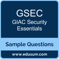 GSEC Dumps, GSEC PDF, GSEC VCE, GIAC Security Essentials VCE