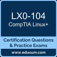 Linux+ Dumps, Linux+ PDF, LX0-104 PDF, Linux+ Braindumps, LX0-104 Questions PDF, CompTIA LX0-104 VCE, CompTIA Linux Plus Dumps