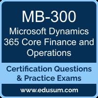 Microsoft Dynamics 365 Dumps, Microsoft Dynamics 365 PDF, MB-300 PDF, Microsoft Dynamics 365 Braindumps, MB-300 Questions PDF, Microsoft MB-300 VCE