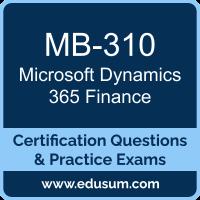 Microsoft Dynamics 365 Dumps, Microsoft Dynamics 365 PDF, MB-310 PDF, Microsoft Dynamics 365 Braindumps, MB-310 Questions PDF, Microsoft MB-310 VCE