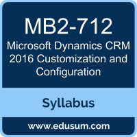 Microsoft Dynamics CRM 2016 Customization and Configuration PDF, MB2-712 Dumps, MB2-712 PDF, Microsoft Dynamics CRM 2016 Customization and Configuration VCE, MB2-712 Questions PDF, Microsoft MB2-712 VCE, MCP Microsoft Dynamics CRM 2016 Dumps, MCP Microsoft Dynamics CRM 2016 PDF
