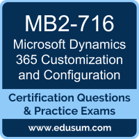 Microsoft Dynamics 365 Customization and Configuration Dumps, Microsoft Dynamics 365 Customization and Configuration PDF, MB2-716 PDF, Microsoft Dynamics 365 Customization and Configuration Braindumps, MB2-716 Questions PDF, Microsoft MB2-716 VCE, Microsoft MCSA Dynamics 365 Dumps