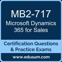 mb2 717 microsoft dynamics 365 for sales
