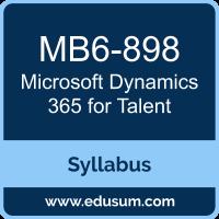 Dynamics 365 for Talent PDF, MB6-898 Dumps, MB6-898 PDF, Dynamics 365 for Talent VCE, MB6-898 Questions PDF, Microsoft MB6-898 VCE, Microsoft MCSE Business Applications Dumps, Microsoft MCSE Business Applications PDF