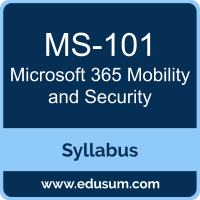 Microsoft 365 Mobility and Security PDF, MS-101 Dumps, MS-101 PDF, Microsoft 365 Mobility and Security VCE, MS-101 Questions PDF, Microsoft MS-101 VCE, , Microsoft MCE Microsoft 365 Enterprise Administrator Dumps, Microsoft MCE Microsoft 365 Enterprise Administrator PDF