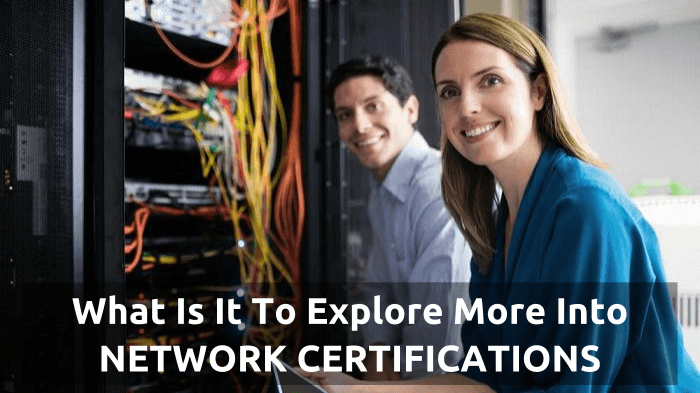 What is Network Certification