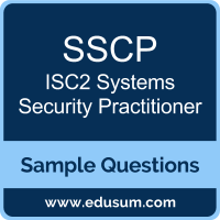 SSCP Dumps, SSCP PDF, SSCP VCE, ISC2 Systems Security Practitioner VCE