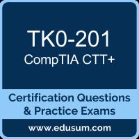CTT+ Dumps, CTT+ PDF, TK0-201 PDF, CTT+ Braindumps, TK0-201 Questions PDF, CompTIA TK0-201 VCE, CompTIA CTT Plus Dumps
