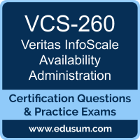 InfoScale Availability Administration Dumps, InfoScale Availability Administration PDF, VCS-260 PDF, InfoScale Availability Administration Braindumps, VCS-260 Questions PDF, Veritas VCS-260 VCE, Veritas InfoScale Availability Administration - UNIX/Linux Dumps