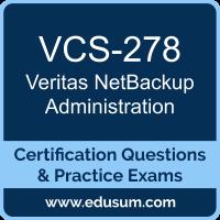 Veritas NetBackup Dumps, Veritas NetBackup PDF, VCS-278 PDF, Veritas NetBackup Braindumps, VCS-278 Questions PDF, Veritas VCS-278 VCE