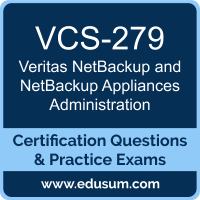 NetBackup and NetBackup Appliances Administration Dumps, NetBackup and NetBackup Appliances Administration PDF, VCS-279 PDF, NetBackup and NetBackup Appliances Administration Braindumps, VCS-279 Questions PDF, Veritas VCS-279 VCE