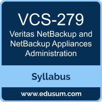 NetBackup and NetBackup Appliances Administration PDF, VCS-279 Dumps, VCS-279 PDF, NetBackup and NetBackup Appliances Administration VCE, VCS-279 Questions PDF, Veritas VCS-279 VCE