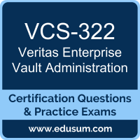 Enterprise Vault Administration Dumps, Enterprise Vault Administration PDF, VCS-322 PDF, Enterprise Vault Administration Braindumps, VCS-322 Questions PDF, Veritas VCS-322 VCE