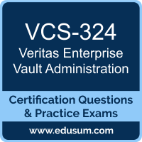 Enterprise Vault Administration Dumps, Enterprise Vault Administration PDF, VCS-324 PDF, Enterprise Vault Administration Braindumps, VCS-324 Questions PDF, Veritas VCS-324 VCE