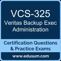Veritas Certification Dumps, Veritas Certification PDF, VCS-325 PDF, Veritas Certification Braindumps, VCS-325 Questions PDF, Veritas VCS-325 VCE