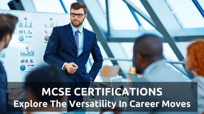 Versatile Career with MCSE