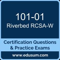 101-01: Riverbed Certified Solutions Associate - WAN Optimization (WAN Optimizat