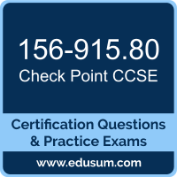 156-915.80: Check Point Security Expert Update (CCSE R80)