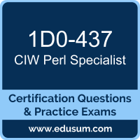 1D0-437: CIW Perl Specialist