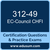 312-49: EC-Council Computer Hacking Forensic Investigator (CHFI v9)