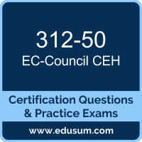 312-50: EC-Council Certified Ethical Hacker (CEH v10)