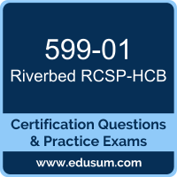 599-01: Riverbed Certified Solutions Professional - Hyper-converged Branch