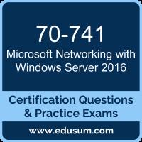 70-741: Networking with Windows Server 2016 (MCSA Windows Server 2016)
