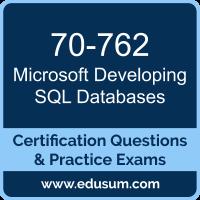70-762: Microsoft Developing SQL Databases